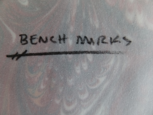 Typical bench notes for a box project