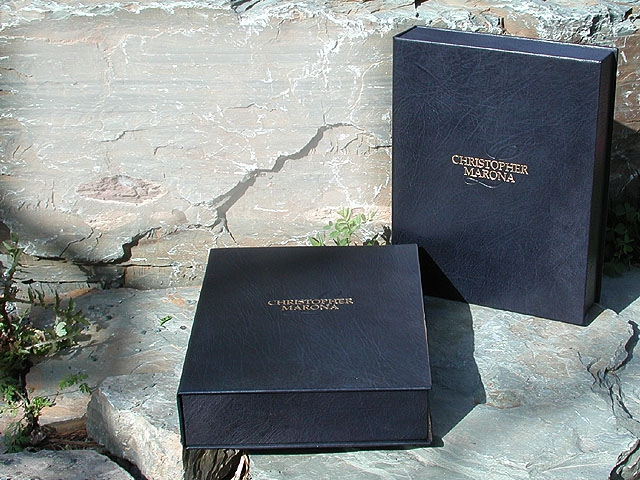Leather Clamshell Boxes