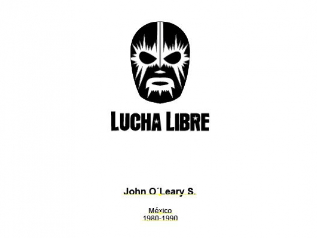 Provided Lucha Libre hot stamp design elements
