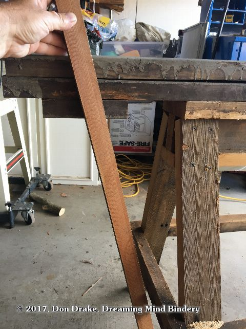 Making a sawhorse mounted shaving pony